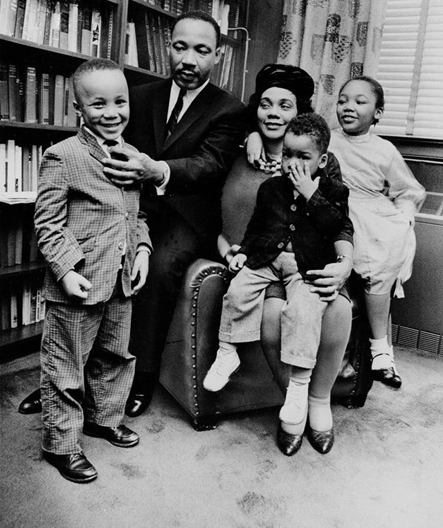 We celebrate MLK day today. He was a great leader no doubt. However, don't  forget he was a husband and father whose brilliant life was taken at 39. I pray we all can make one iota of the sacrifices he made for justice and equality for the least of these amongst us.