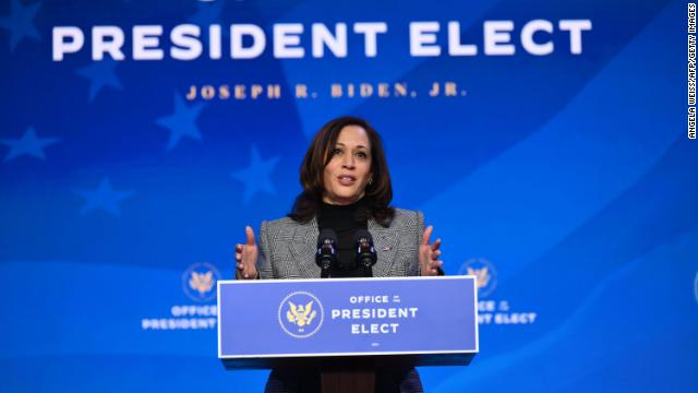 Vice President-elect Kamala Harris has formally submitted her letter of resignation from the US Senate to California Gov. Gavin Newsom