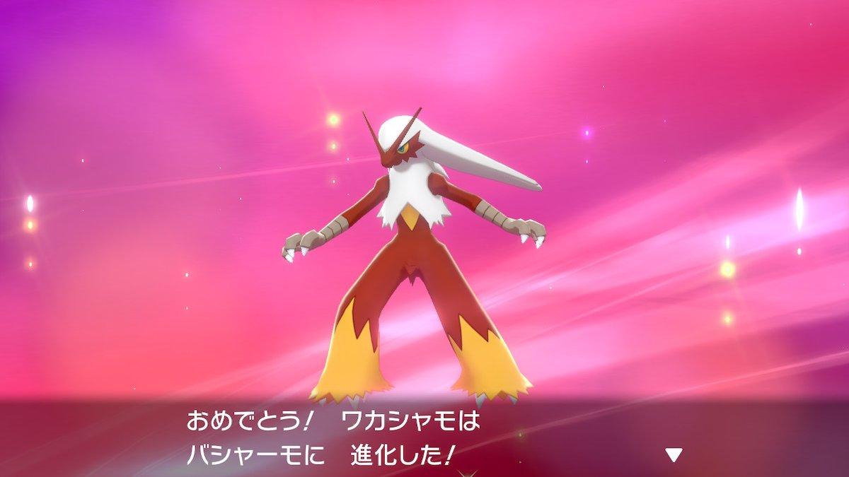 ポケモン 剣 盾 バシャーモ