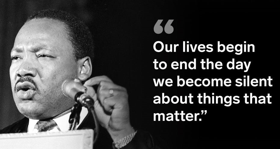 Seems like many #GOP pols & voters are saying that the way to end America's divisiveness is to quit addressing   #TrumpCoupAttempt & his #ComplicitGOP enablers Here's perfect response to them on #MLKDay2021  #CapitolRiot #ConvictAndRemove #GOPBetrayedAmerica