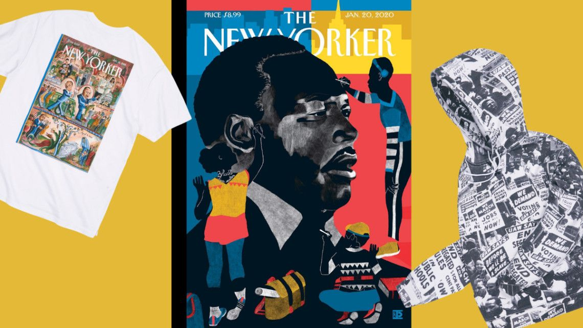 Lifestyle brand @KITH has partnered with the estate of Dr. Martin Luther King Jr. and the @NewYorker to produce a limited-edition apparel collection to honor Dr. King's life and legacy.