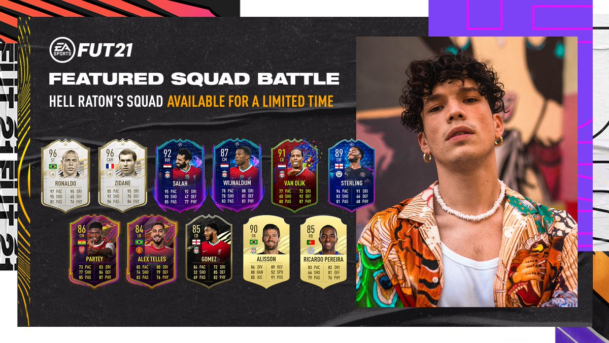 🔥 @Machete_Mnlt's Featured Squad Battle side is fierce. 💪  See if you have what it takes to defeat it in #FUT, for a limited time. #FIFA21