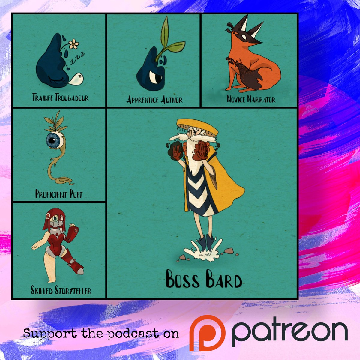 📢 With six distinct tiers bagging you #exclusive #perks, such as #behindthescenes content, #earlyaccess, and even unique #shortstory #commissions, please consider #supporting the podcast by joining us on #Patreon. Every contribution helps! ❤️ #linkinbio