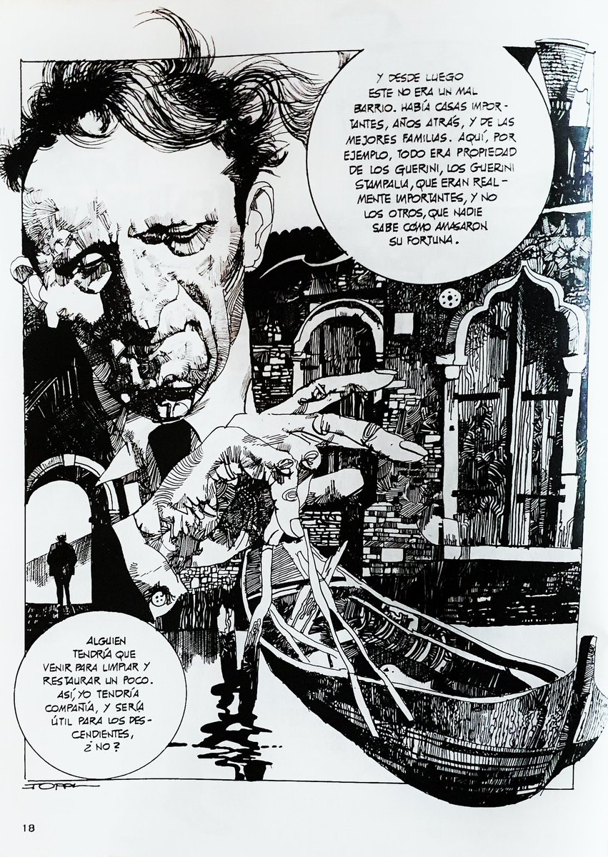 Artwork by Sergio Toppi....#comics #1984IsHere #ComicArt
