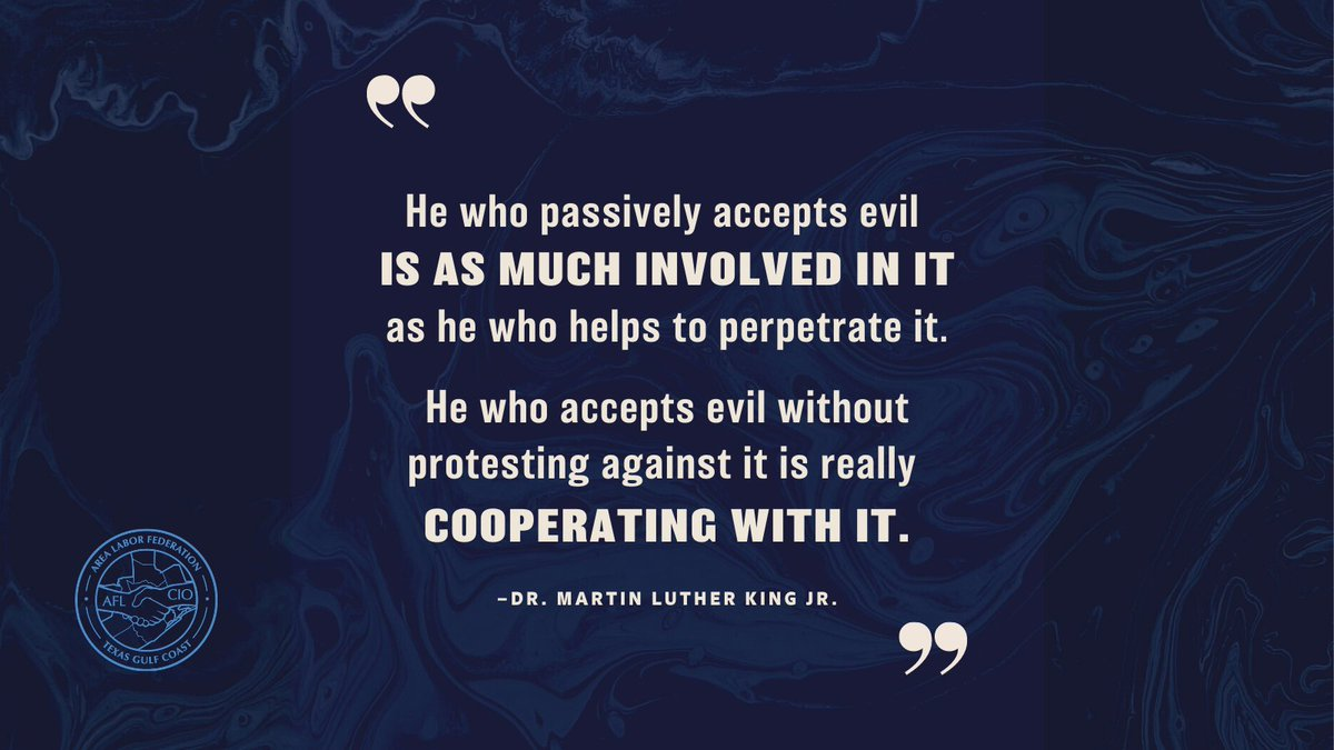 Dr. King's words resonate today more than ever. #MLKDay #1u