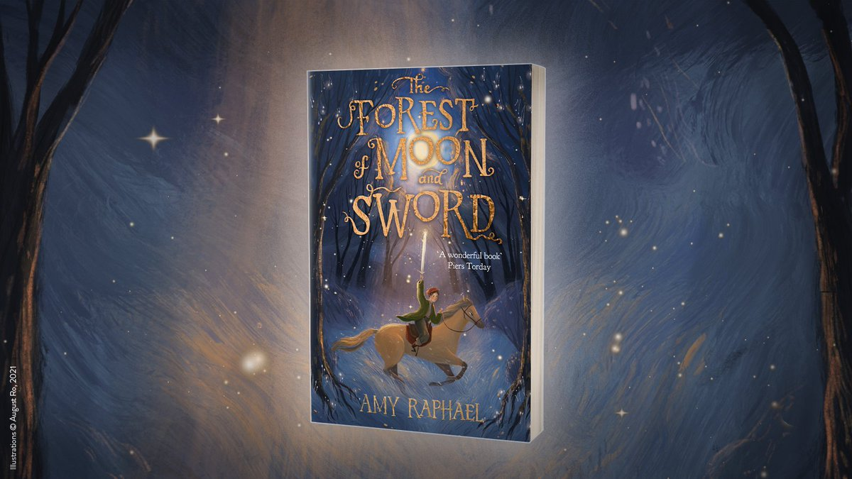 Read all about @amy_raphael's recommended children's books inspired by folklore on the @waterstones blog:    Signed copies of The Forest of Moon and Sword are available here: