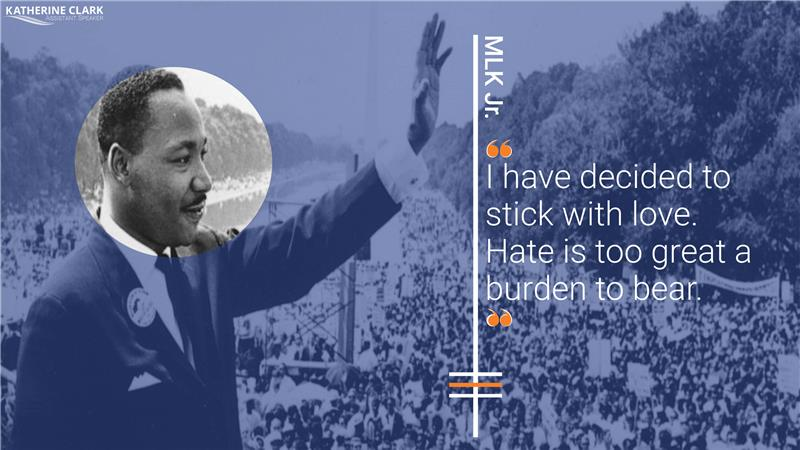 Like Dr. King, we must take steps toward justice even when we cannot see the full path ahead. We must continue his march and bring to life an America unrestrained by hate and where justice is a reality for all. #MLKDay2021 #MLKDay #MLKJr