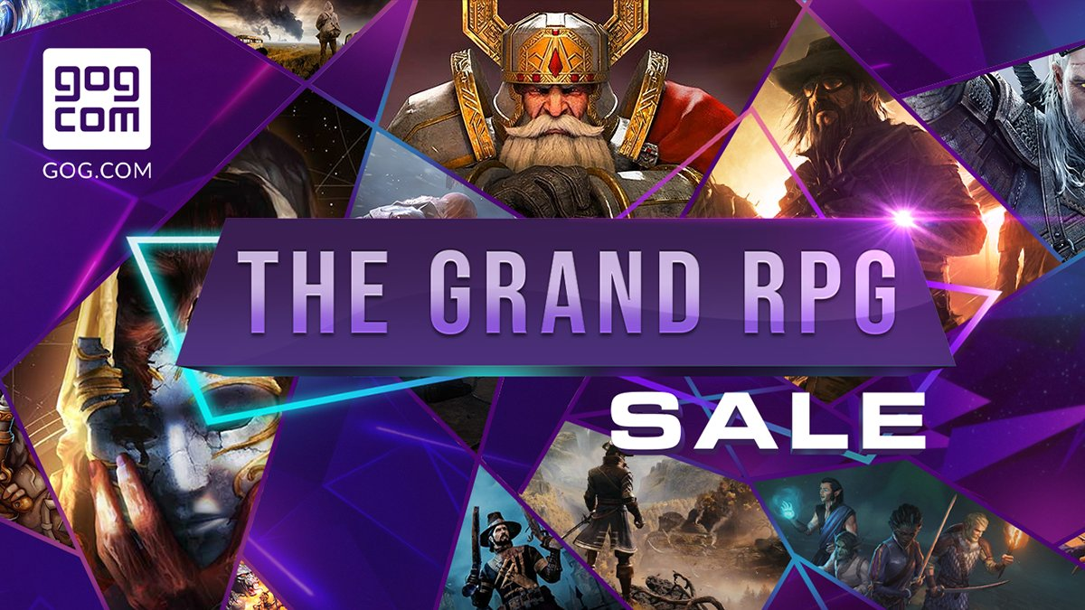 Set out on amazing adventures with our Grand RPG Sale 👣  🔹 Baldur's Gate: EE (–50%) 🔹 Torment: Tides of Numenera (–70%) 🔹 Divinity: Original Sin 2 - Definitive Edition (–60%) 🔹 Dragon Age: Origins - Ultimate Edition (–75%)  250+ deals up to –90% 👉