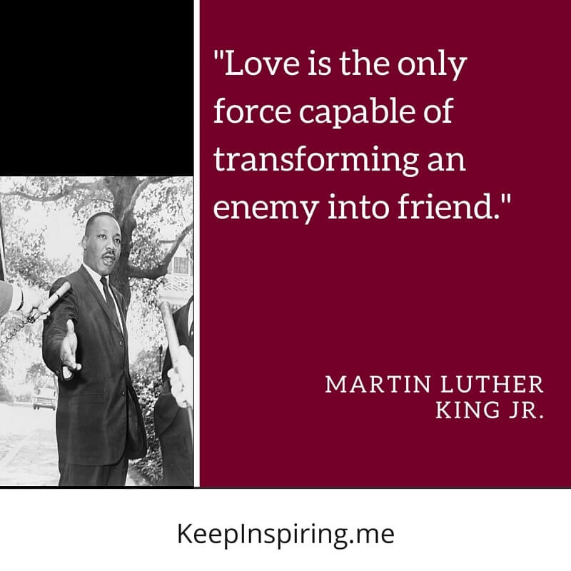 We reflect and remember the great Martin Luther King, Jr.  He was wise beyond his years and among his many principles, let us remember 'it all begins with love'.  #MLKDay #mondaythoughts