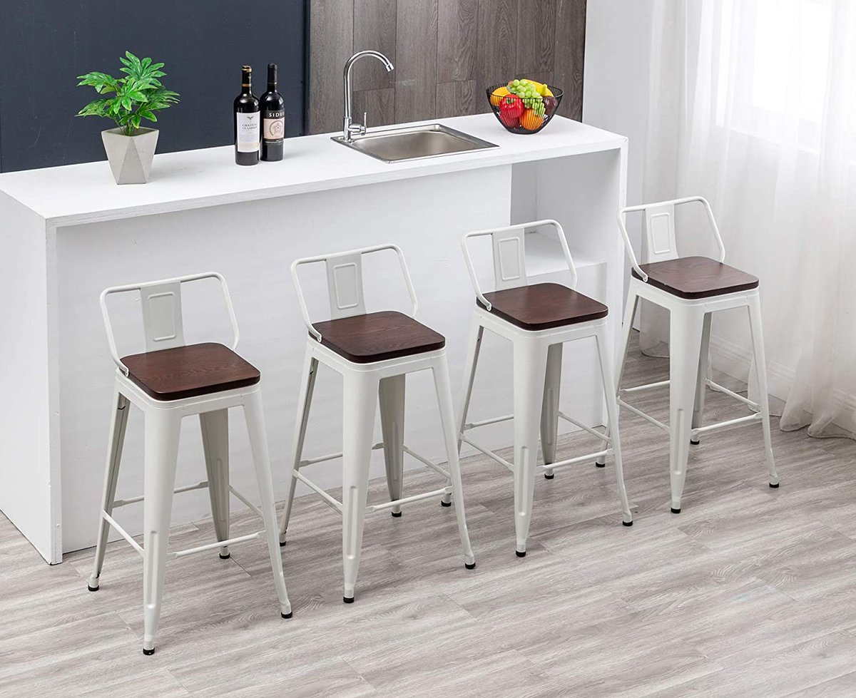 Sharing #white #bar #stool for #home #kitchen  #Amazon👉 #interiordesign #homesweethome #moderndesign #decorationideas #blog #design #furniture #barstool #industrial #chairs #MondayThoughts #MondayFeeling #MondayMotivation #Mondaymorning #MondayVibes