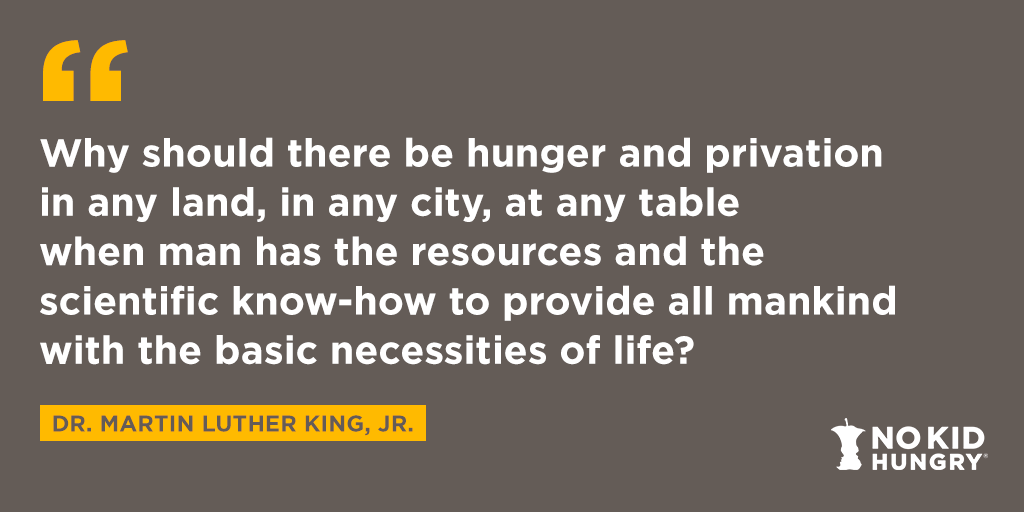 Today we honor Martin Luther King Jr.'s legacy with #MLKDay National Day of Service. We're encouraging everyone to take a moment today to give back to your community. Find ways to get started at .