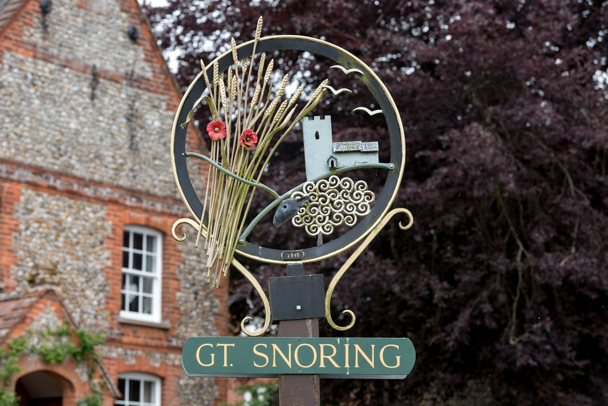 It's #BlueMonday. So, here's some happy facts from the last census to make you smile. Which is bigger: Great Snoring or Little Snoring? #Thread #Norfolk @visitnorfolk