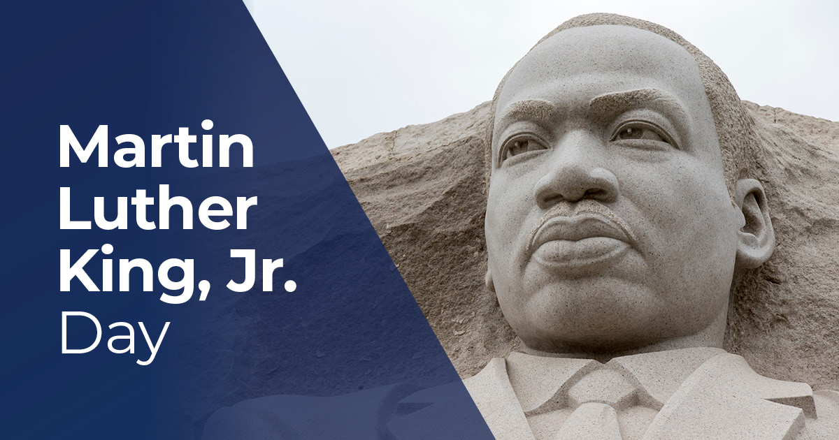 Today is Martin Luther King Jr. Day, a day dedicated to service & celebration of Dr. King's life & powerful legacy:  #MLKDay #MLKDay2021