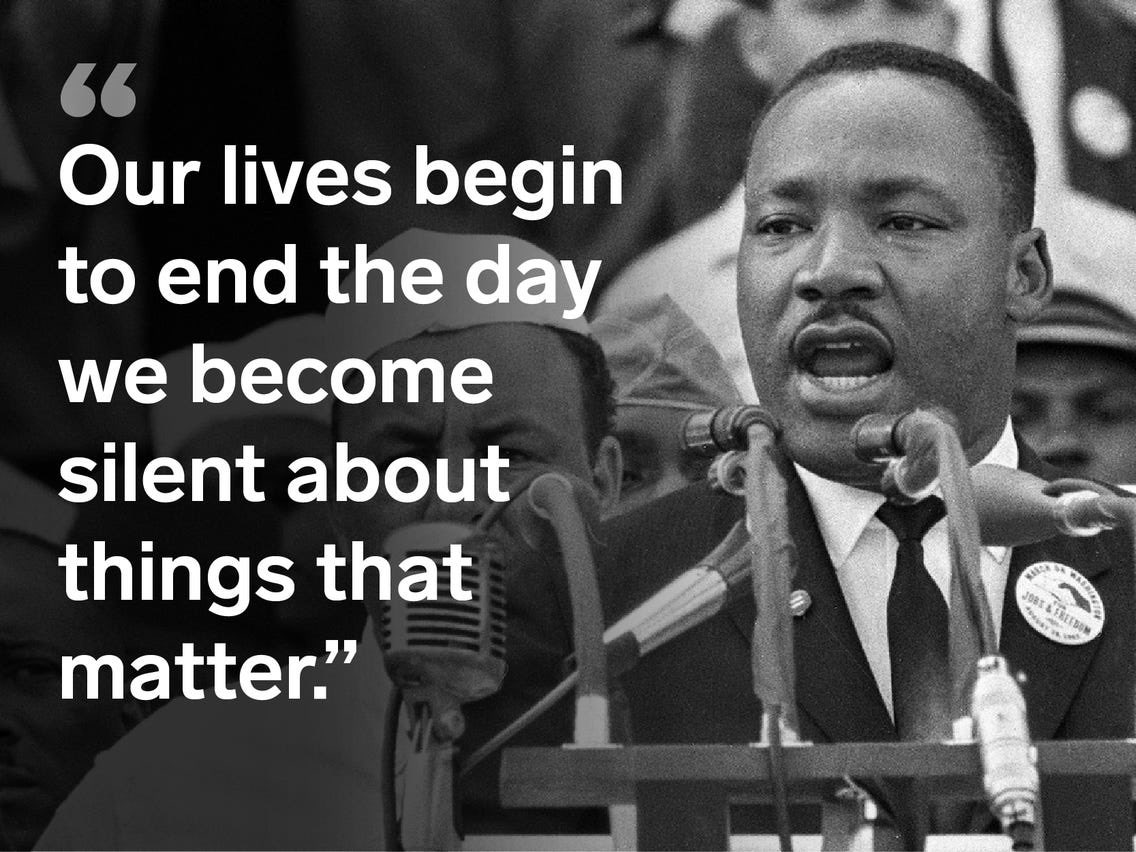 Happy Dr. Martin Luther King Jr. Day! #MLKDay #listenandlearn