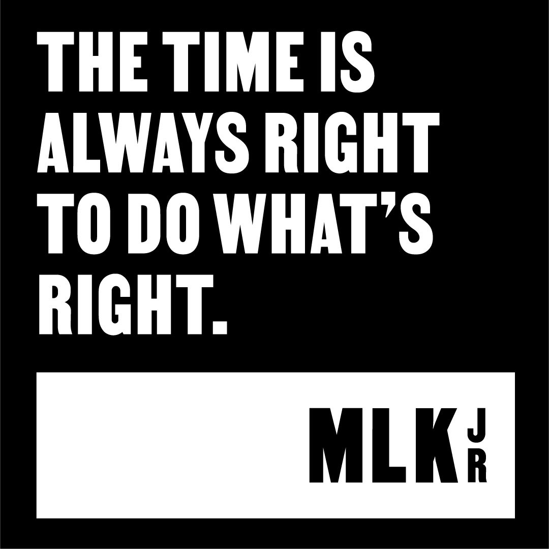 Standing in solidarity with Dr. King Jr., those who came before us and countless leaders today in the continued fight for equal justice and protection under the law for all Americans. #mlk #mlkday