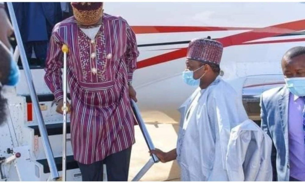 Rotimi Amaechi opens up on use of crutches https://t.co/Q3rpAIIV3v  #Nigeria #NigeriaNews https://t.co/pJWv7i8YZC