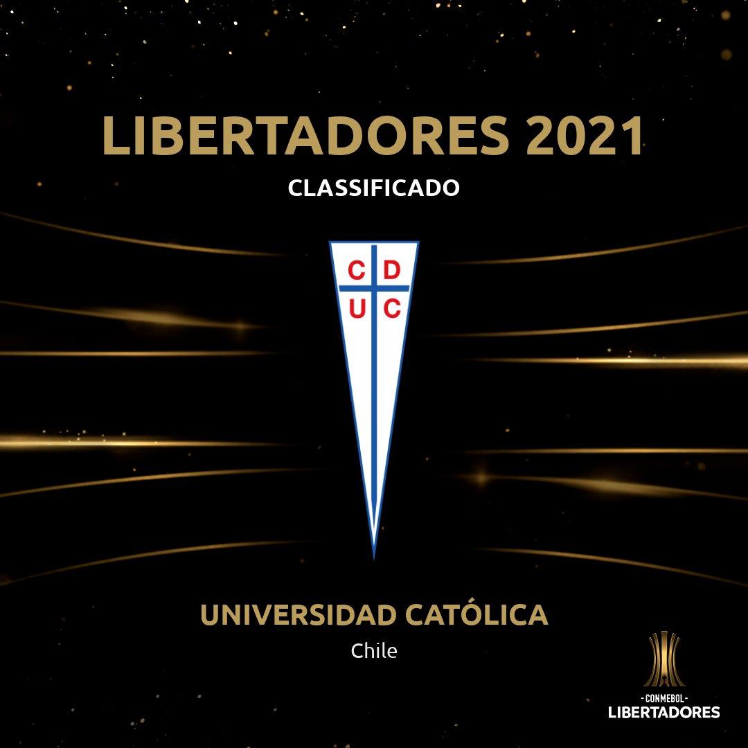👏🇨🇱 Bem-vindos! Os chilenos da @Cruzados estão garantidos na CONMEBOL #Libertadores 2021.
