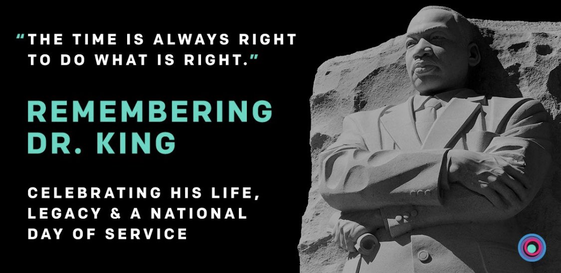 As Dr. Martin Luther King Jr. advocated for civil rights, he also brought awareness to the importance of education.   Today we honor him & take action on the work we must do in the fight for equality. #MLKDay