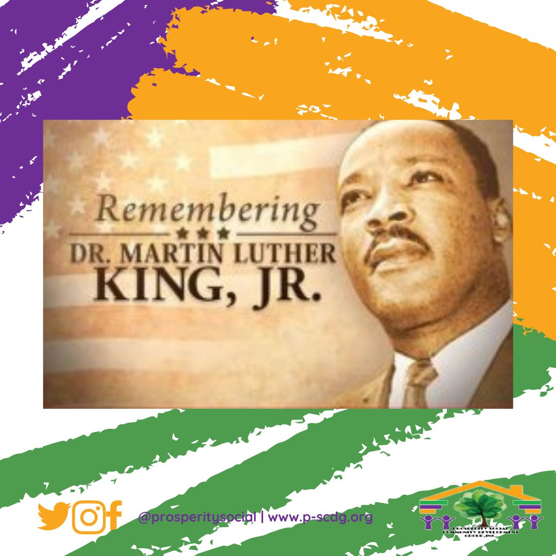 Today, we remember Dr. Martin Luther King, Jr. and celebrate his life. His audacity to dream of a better life for people of color of all races and ethnicities is our current reality we live today. 💜 .  .  .  #PSCDG  #NorthMiami  #miaminonprofits  #nonprofits #mlkday