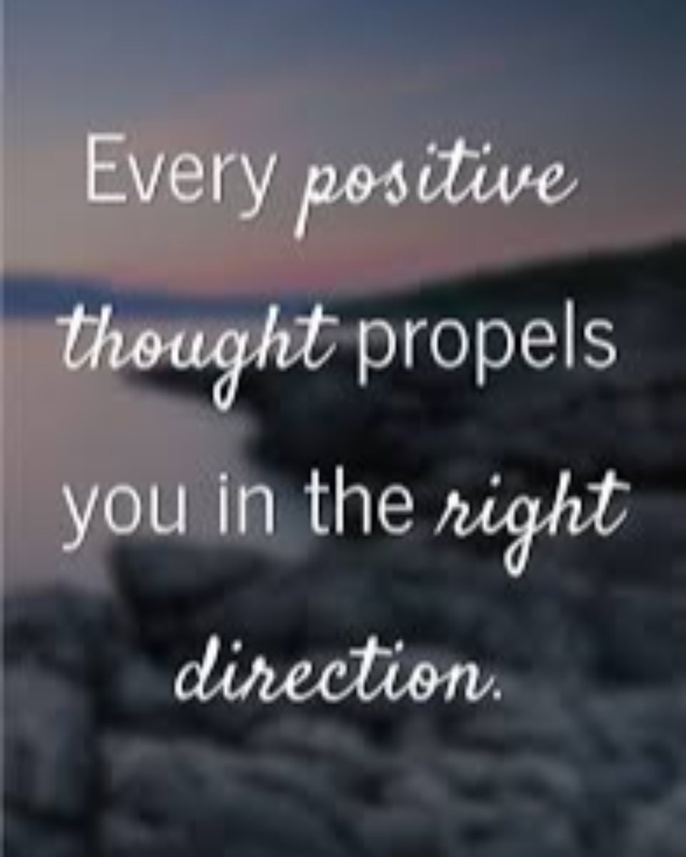 #MondayMotivation: Every positive thought propels you in the right direction.   #MotivationMonday #newjob #job #jobsearch #career #careeradvice #resume #resumewriting