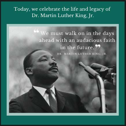 As we honor the legacy of Martin Luther King, Jr., we also celebrate our clients for working to create a future aligned with his values. #MLKDay