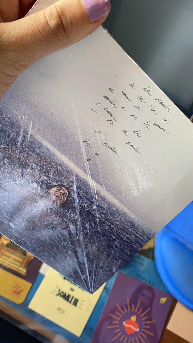ALFON LLEGÓ MI WONDER DELUXE ALBUM #WONDER @ShawnMendes 💜💙