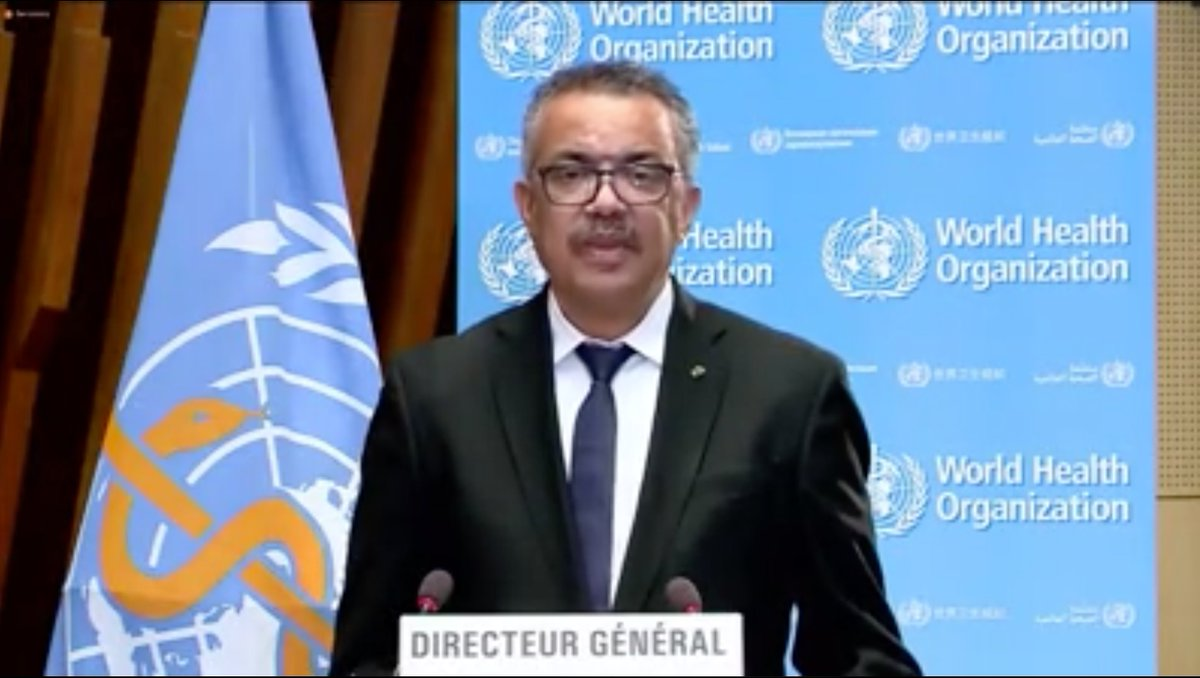 """On the global #CovidVaccine  failure thus far: """"More than 39 million doses of vaccine have now been administered in at least 49 higher-income countries.Just 25 doses have been given in one low-income country. Not 25 million. not 25 thousand. 25"""" @DrTedros  #EB148 https://t.co/wv83ZtPXTs"""