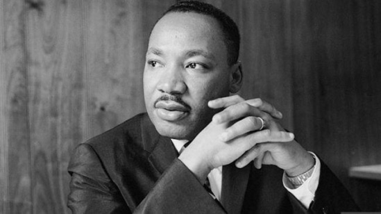 """""""I have decided to stick with love. Hate is too great a burden to bear""""  #MLKDay   We remember you"""