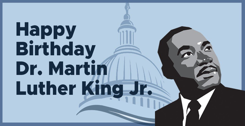 Dr. King was able to have optimism about the future even at the lowest points in American history. Now more than ever, we must steel ourselves to answer his call of service, to show what true moral leadership looks like, and govern by example. #MLKDay