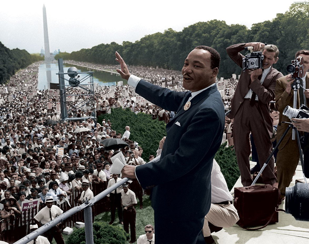 """Everybody can be great...because anybody can serve. You don't have to have a college degree to serve. You don't have to make your subject and verb agree to serve. You only need a heart full of grace. A soul generated by love."" — Dr. Martin Luther King, Jr. #MLKDay"