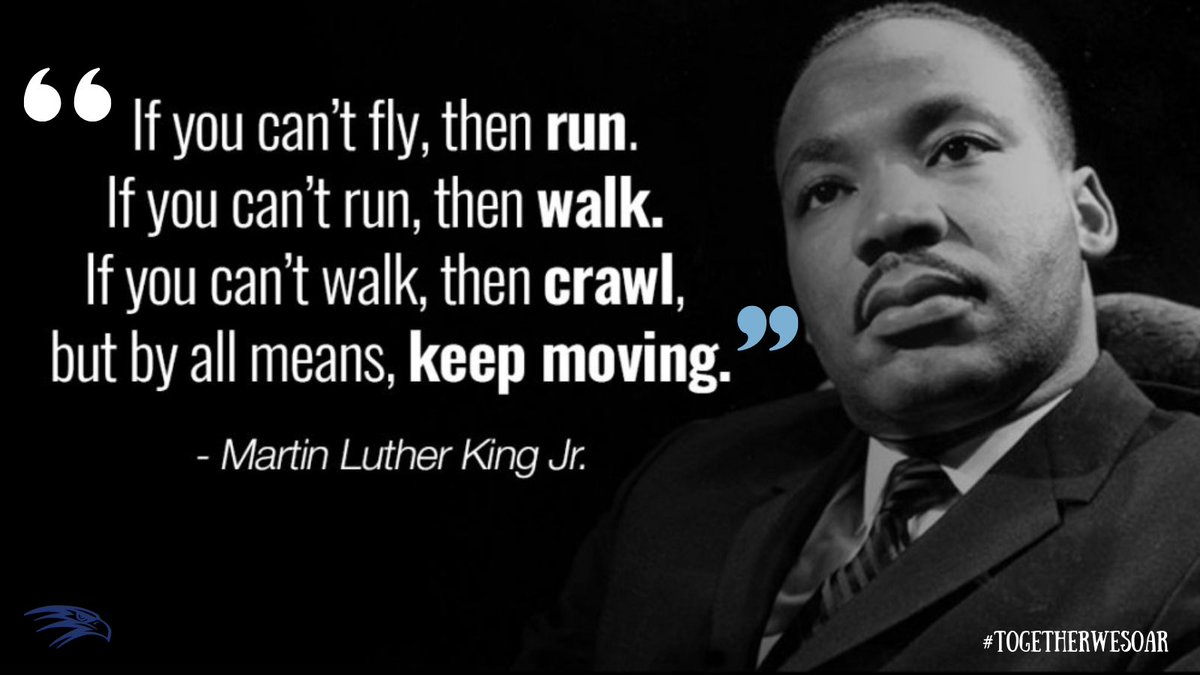 Together, we honor Dr. King and continue working towards his dream.  #MLKDay  | #TogetherWeSoar