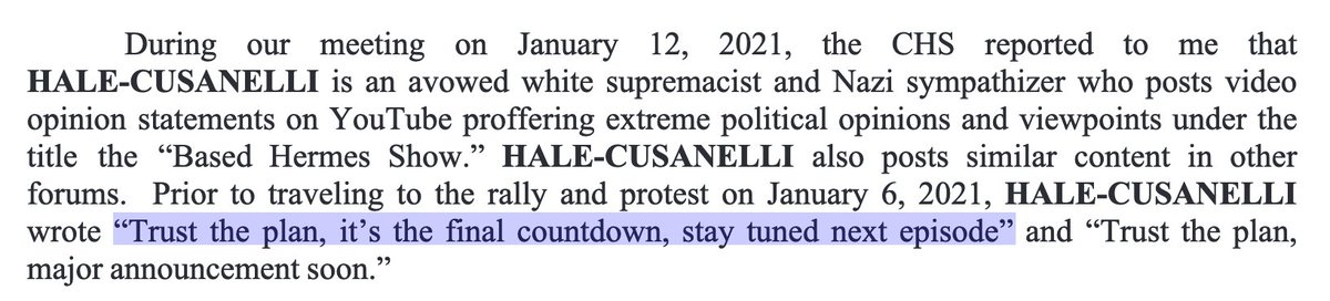"Timothy Louis Hale-Cusanelli, arrested on Sunday in New Jersey in connection with the U.S. Capitol insurrection, is enlisted in the U.S. Army Reserves and an ""avowed white supremacist and Nazi sympathizer,"" authorities say.  Here's what feds say he wrote en route to the siege. https://t.co/qeQ2aGpdt3"