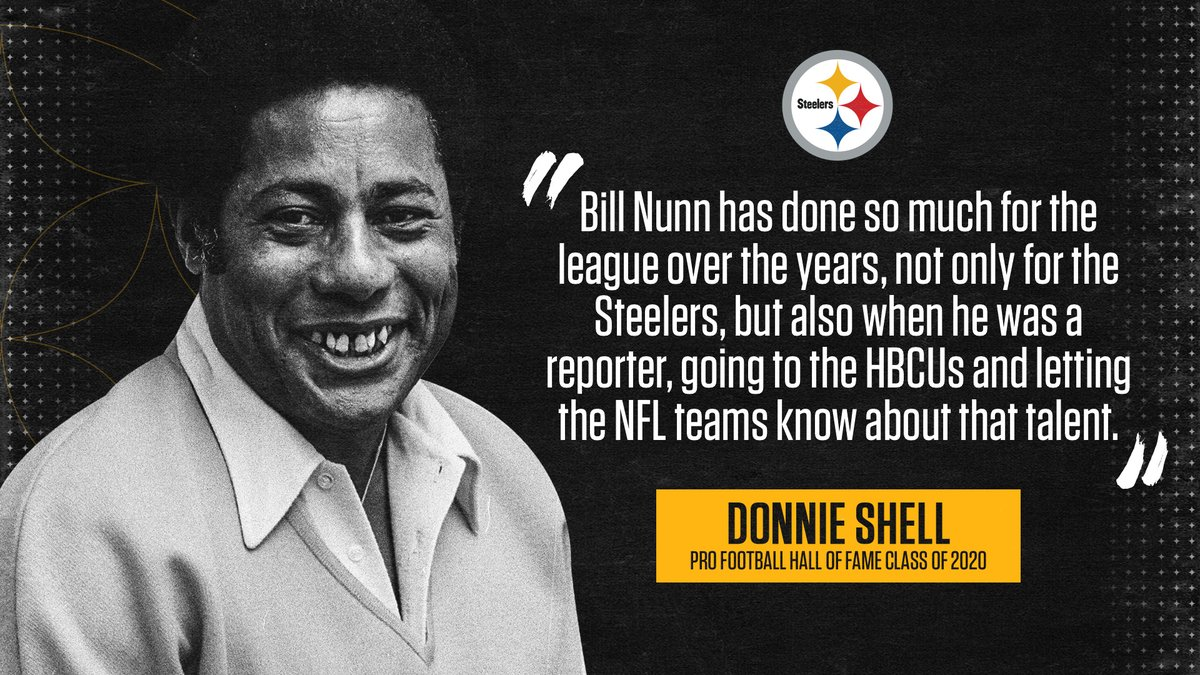 .@donnie_shell on why Bill Nunn should be part of the #PFHOF21 Class: