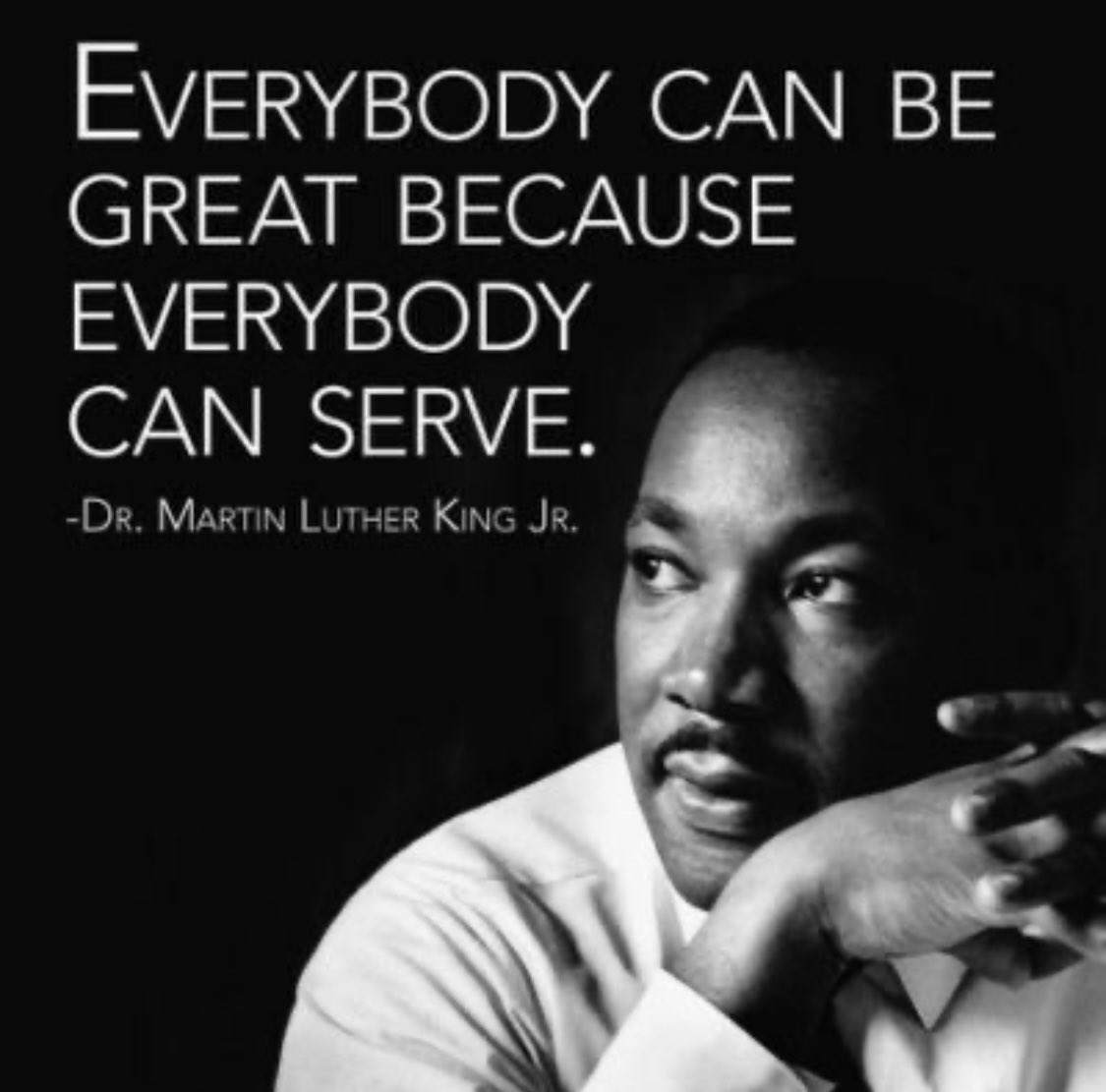 In celebration of the life and legacy of Dr. Martin Luther King, Jr. #MLKDay