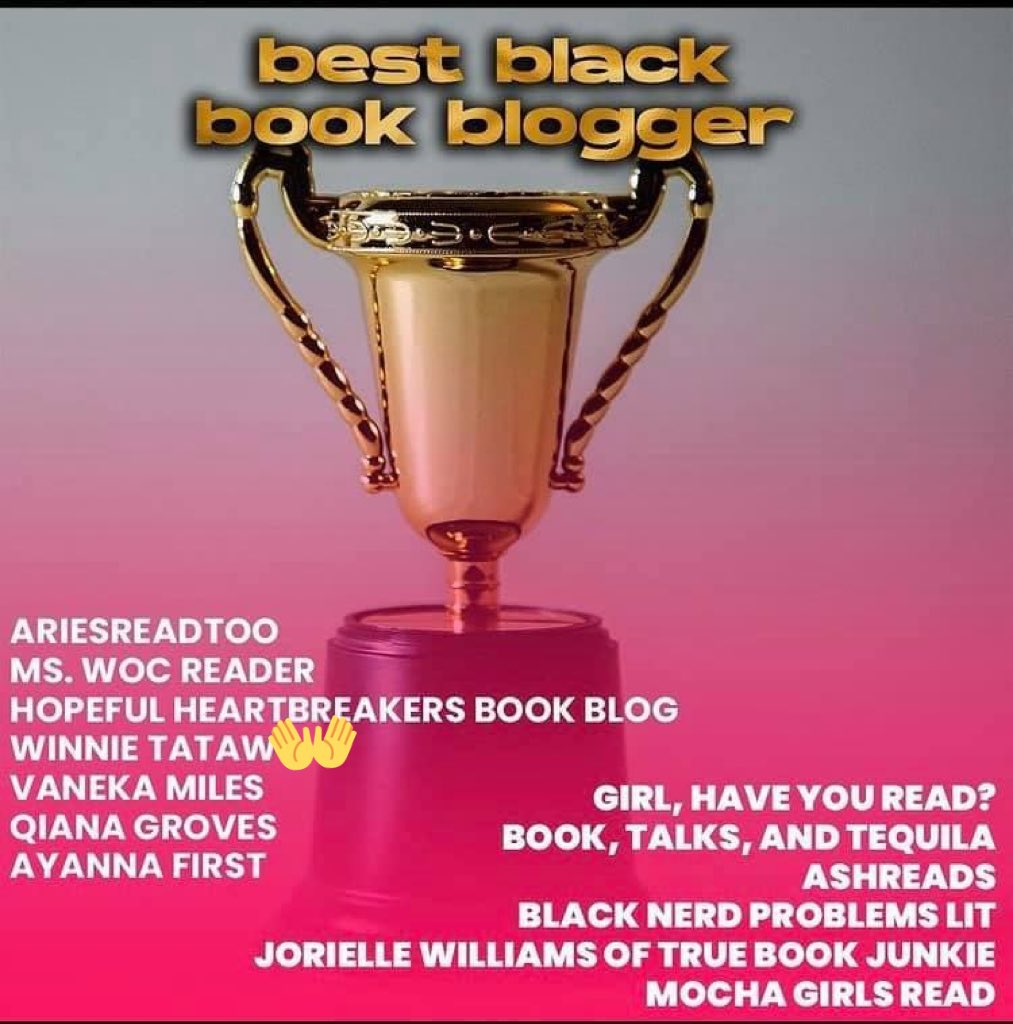Oh my gosh thank you guys so much for the nomination!!! Please go vote for me in my category as Best Black Book Blogger!!!  Link:   #vote #book #ContestAlert #blackblogger