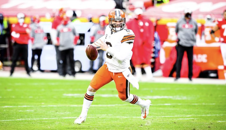 #Browns QB Baker Mayfield was the second highest graded quarterback of the divisional round behind Aaron Rodgers.