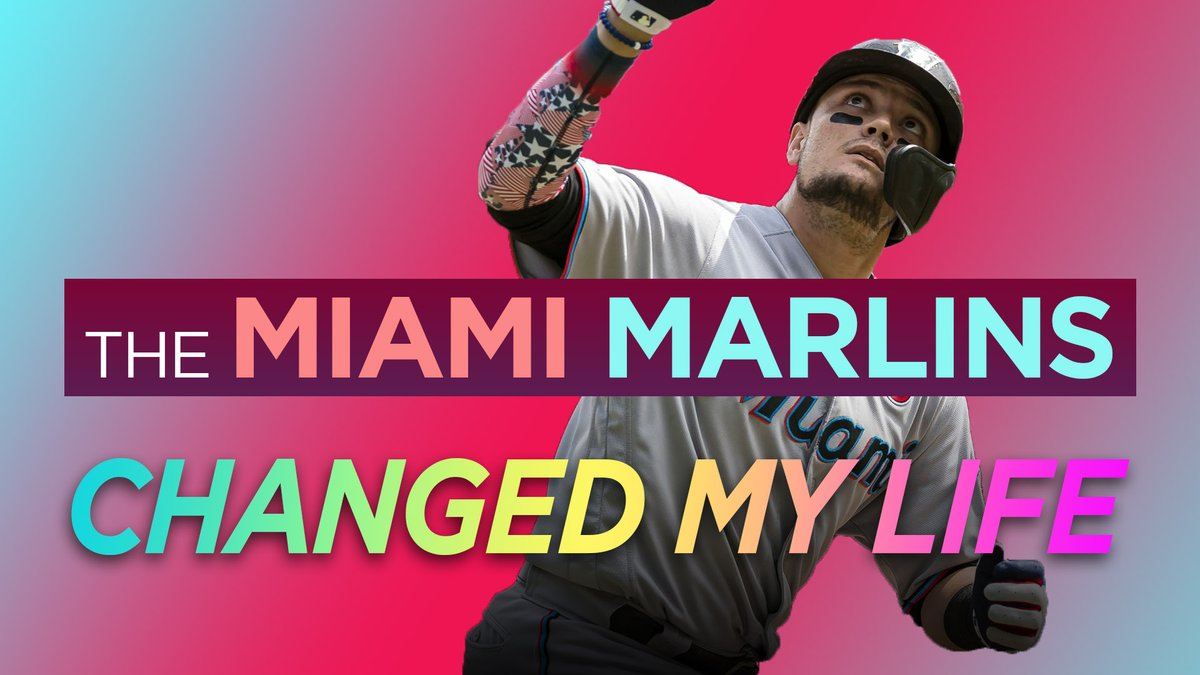 The @Marlins  gave me an experience that every baseball fan dreams of. And, in a very real way, it changed my life. This video features interviews from @FivePointsVids @SRSMatt @SRSMike and @UrinatingTree as we recount a magical day w the Miami Marlins