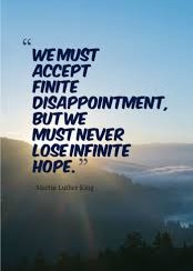 #MartinLutherKingDay #MondayMotivation #Hope #GreatQuotes