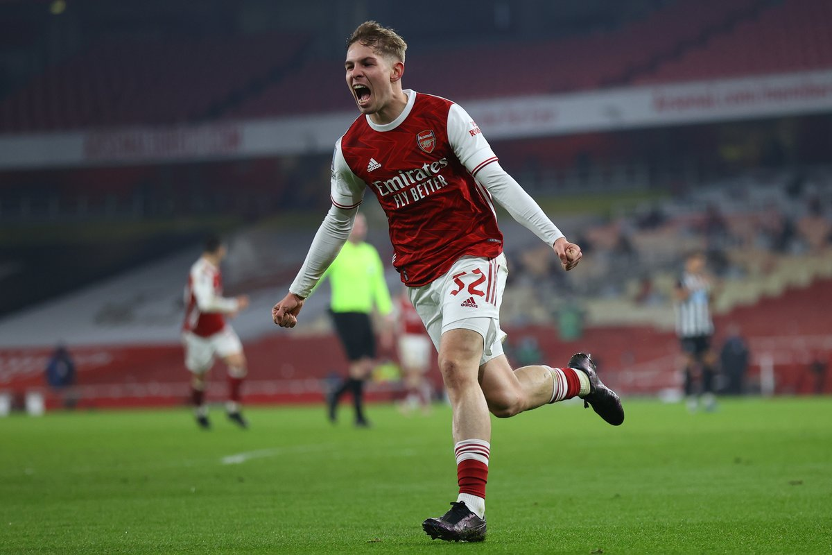 Emile Smith Rowe has either scored (2) or assisted (5) in seven of his 10 appearances for Arsenal in all competitions this season, whilst the Englishman has provided two more assists than any other player for the Gunners this campaign (5).