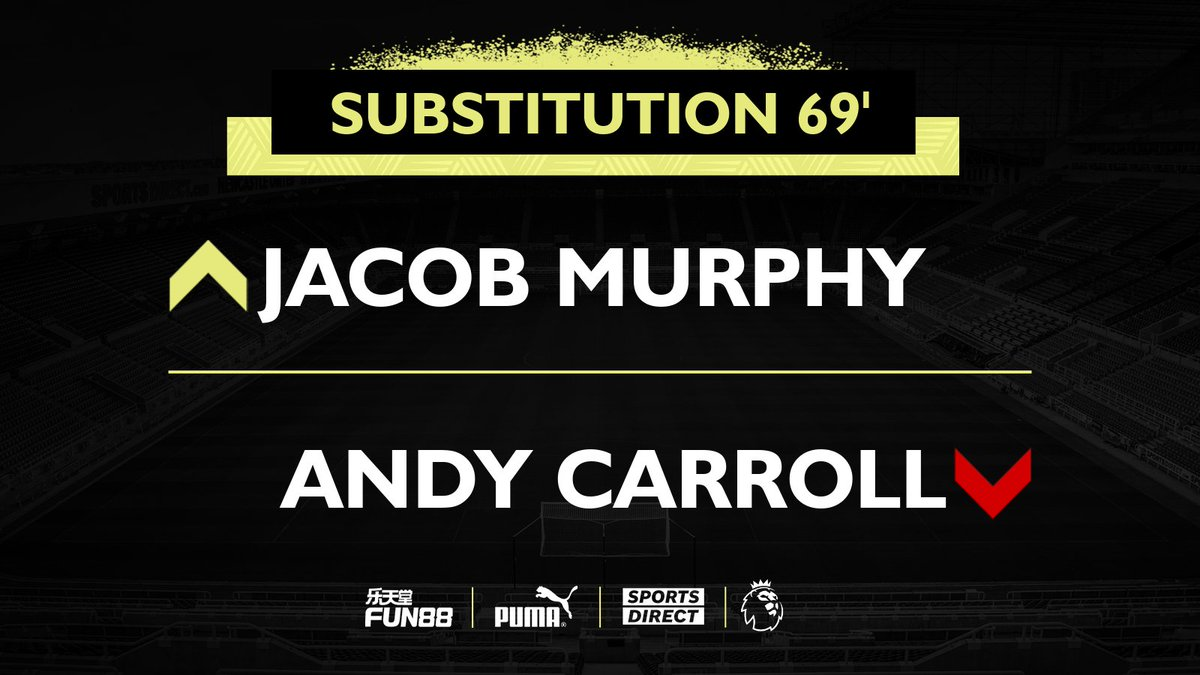 69' Substitution.  [2-0]  #ARSNEW | #NUFC