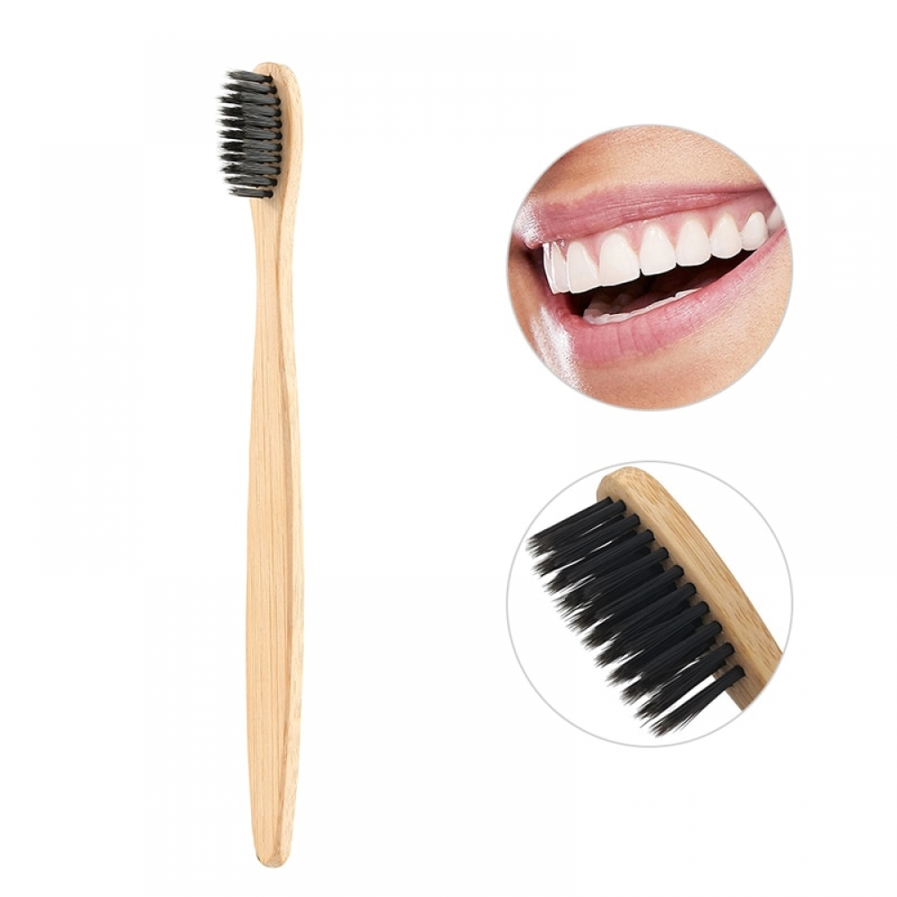 #instafood #healthyeating Simple Wooden Toothbrushes with Soft Bristles