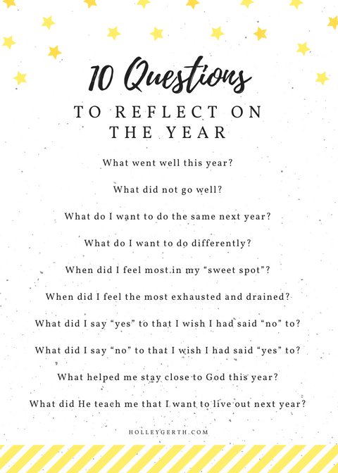 Happy New Year Wiches   :  10 Questions for Looking Back on 2016 - #ChineseNewYear #ChineseNewYear2019 #HappyNewYear #HappyNewYear2019 #NewYearWiches #NewYearWiches2019 #NewYearsDay2019 #NewYearsEve2019 #NewYearsEveDay