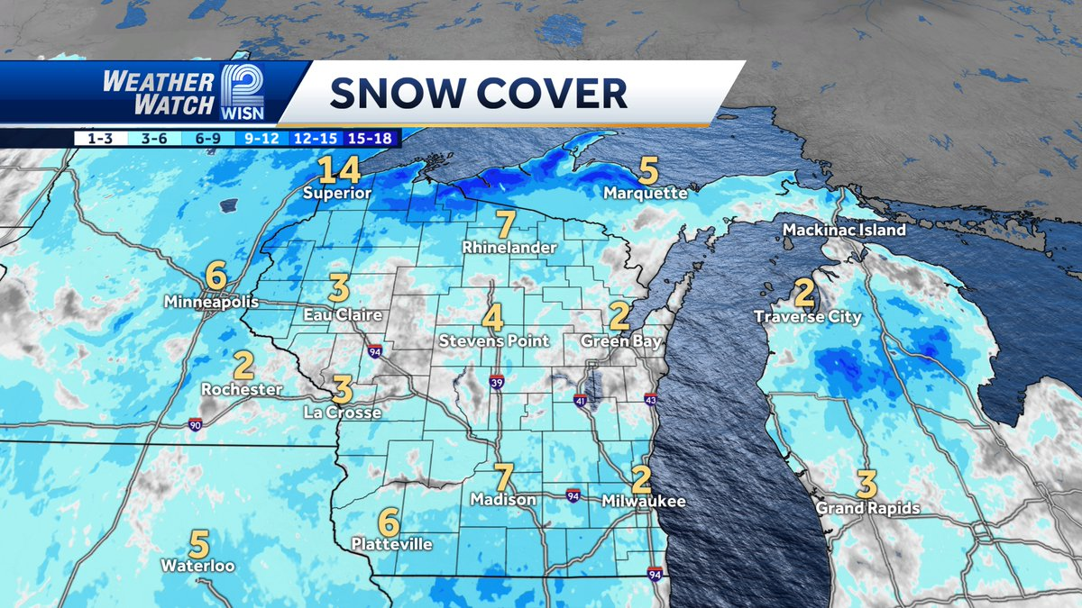 There is not much snow on the ground for January 18th. SE Wisconsin has more than most of the state. Who wants more snow?