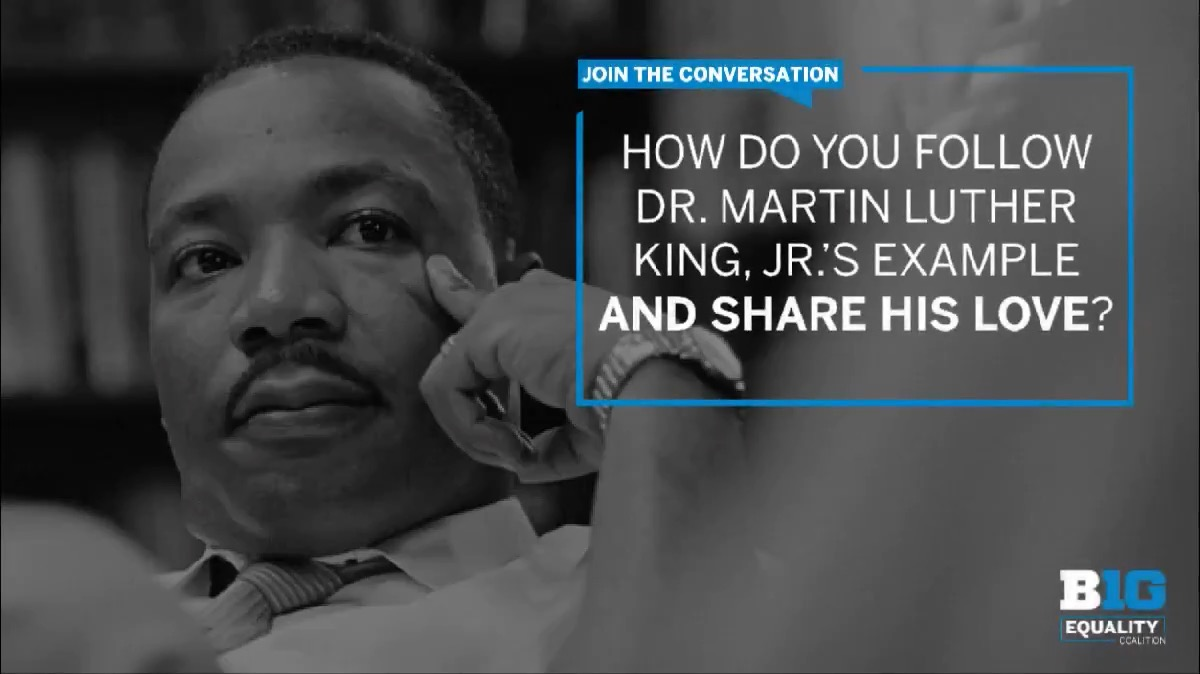 """The most persistent and urgent question is, 'What are you doing for others?'"" -Dr. Martin Luther King, Jr.   #UnitedAsOne #MLKDay"
