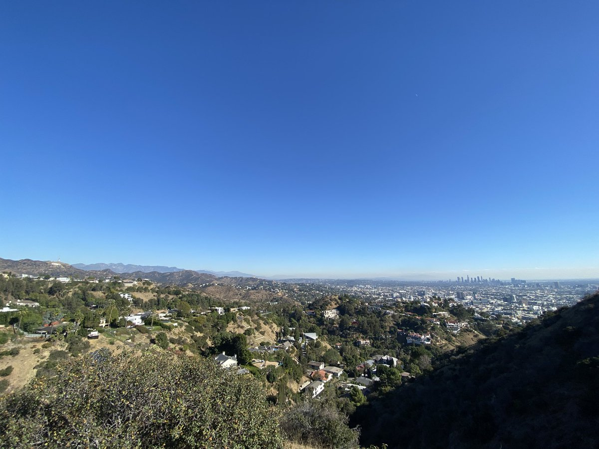 Been going to Griffith to hike and Runyon is literally down the road. 😒