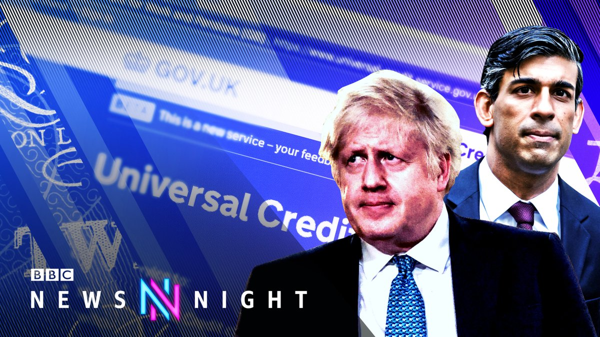 TONIGHT: Boris Johnson faces anger over the government's stance on extending a temporary uplift in Universal Credit, but will he give in to pressure?  We'll be joined by @jrct_uk's Director @Helen_Barnard and the @iealondon's Director General @MarkJLittlewood at 22:45  #Newsnight