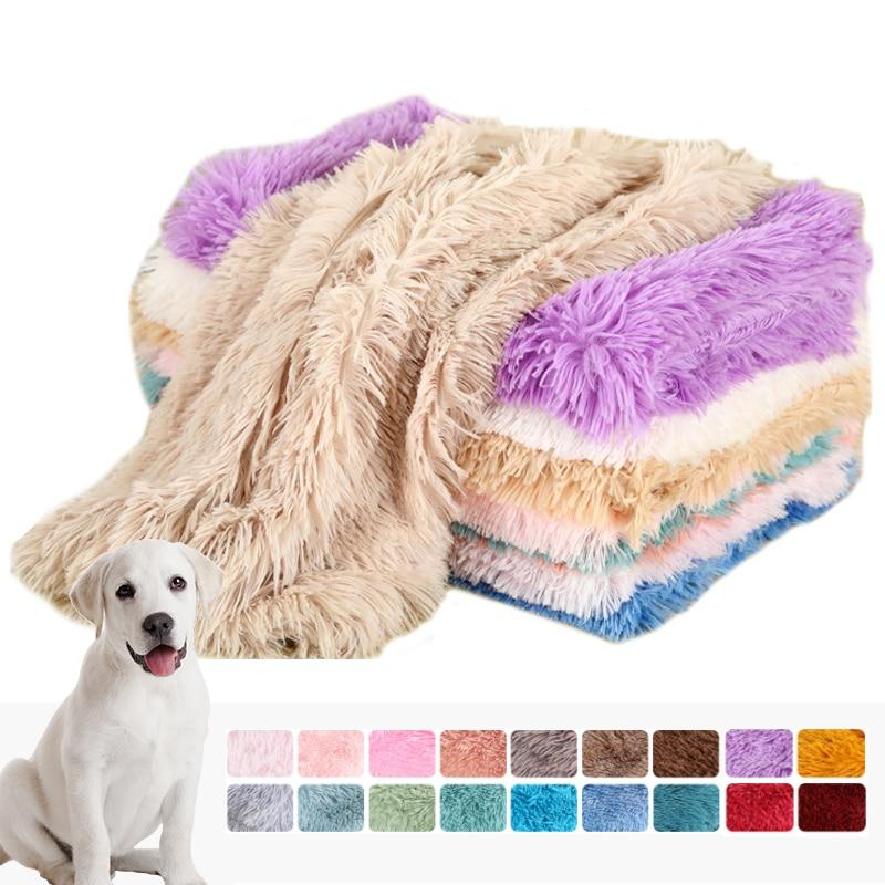 Plush Dog Blanket Pet Sleeping Mat Cushion Mattress Extra Soft Warm Pet Throw Blankets for Small Medium Large Dogs & Cats    $24.9  #aromamoon #Plush #Dog #142904Lightgray5361385L100x75cm  Brand Name:kimpets Wash Style:Mechanical Wash Feature:Extra Sof...