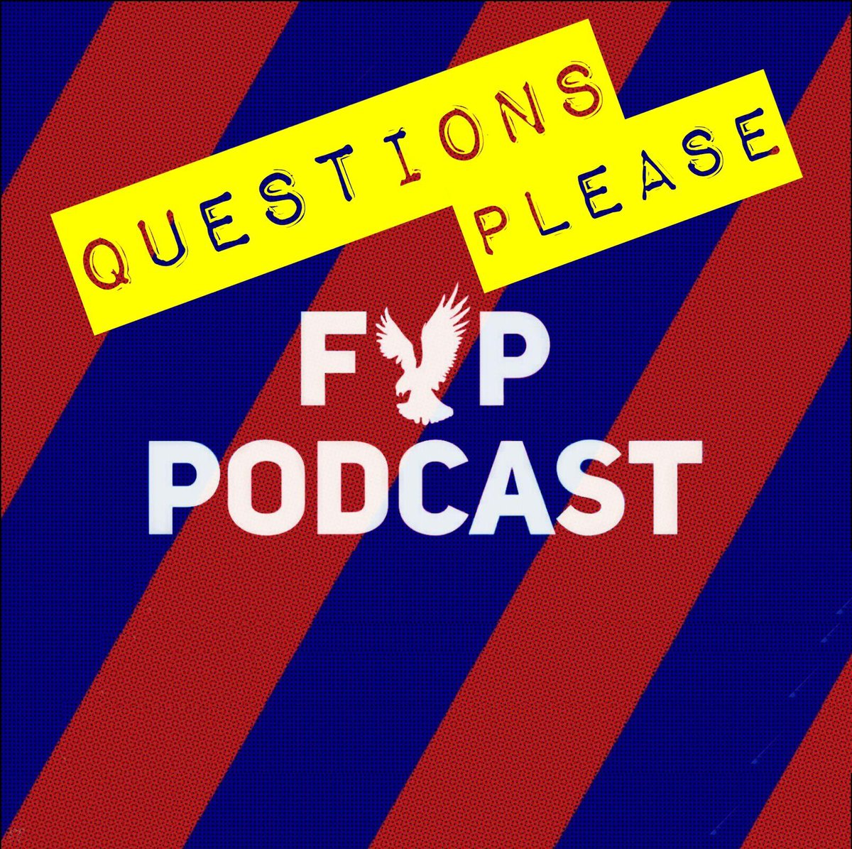 Let's have your questions for this week's main podcast please. #cpfc #FYPPodcast
