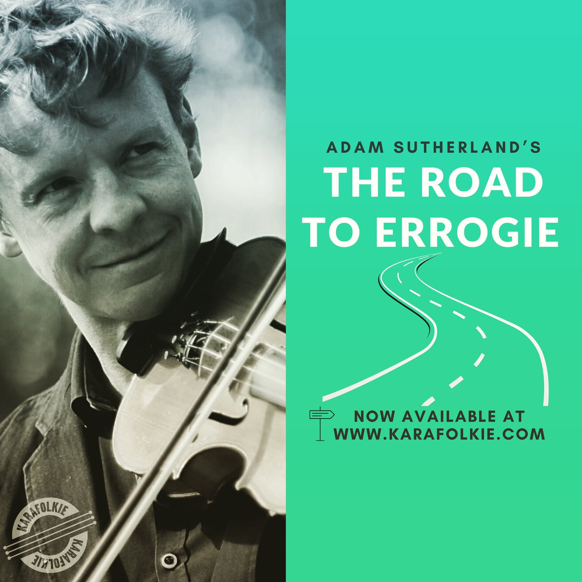 The Road to Errogie by @adamfiddle is now available on #Karafolkie in they keys of B & A!  Tune books are available from Adam's website, or a download from Karafolkie also includes guitar tab, mandolin tab & an audio guide. #karafolkie #newtunes #folkmusic #tradmusic #playathome