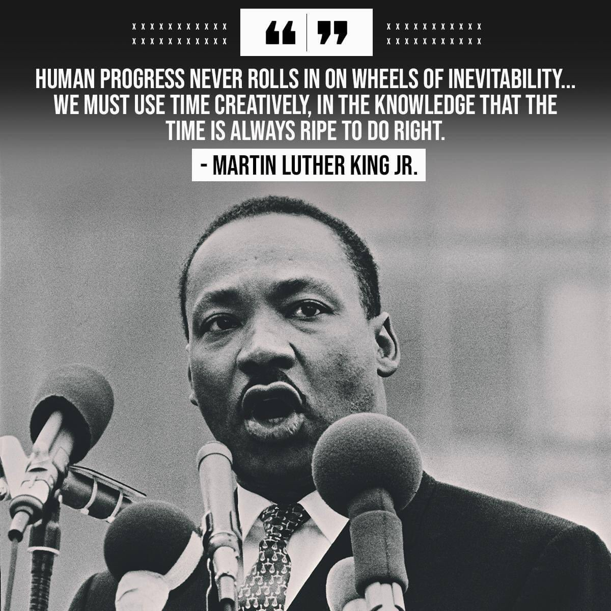 Loving this quote from him. #MLKDay #RememberDrKing